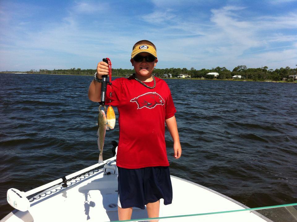 Redfish fishing gulf shores al orange beach al perdido for Gulf shores alabama fishing