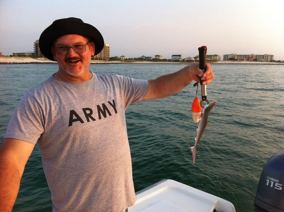 Shark fishing gulf shores al orange beach al perdido for Deep sea fishing perdido key